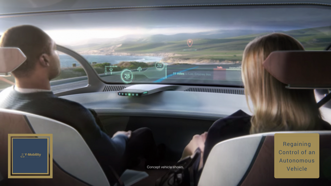 """Taking back control of an Autonomous vehicle when it """"gives up"""""""