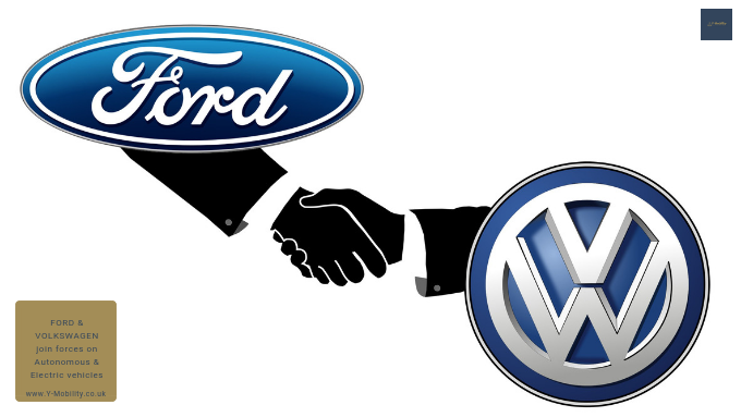 Ford and Volkswagen join forces on the development of self-driving cars