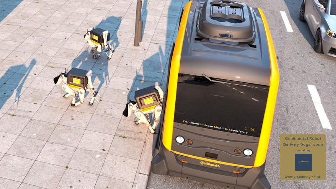 Continental is Testing Robot Dogs!!!