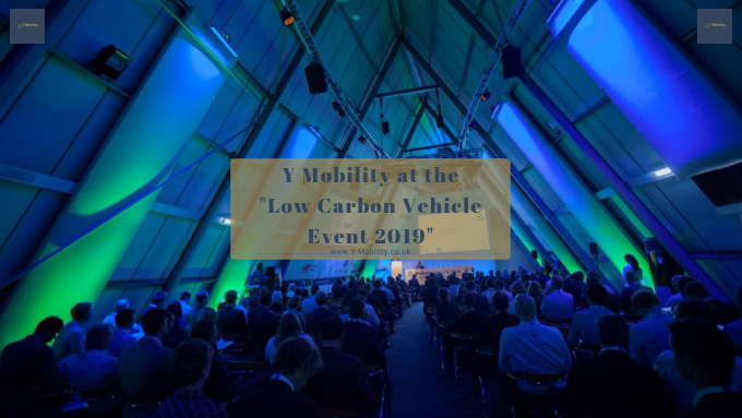 "Y Mobility at the ""Low Carbon Vehicle Event 2019"""