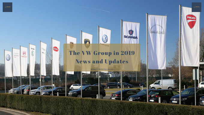 VW increasing its efforts to lead the Mobility industry in 2019