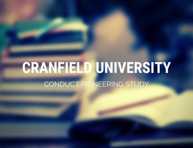 Cranfield University conduct Pioneering study in motion sickness