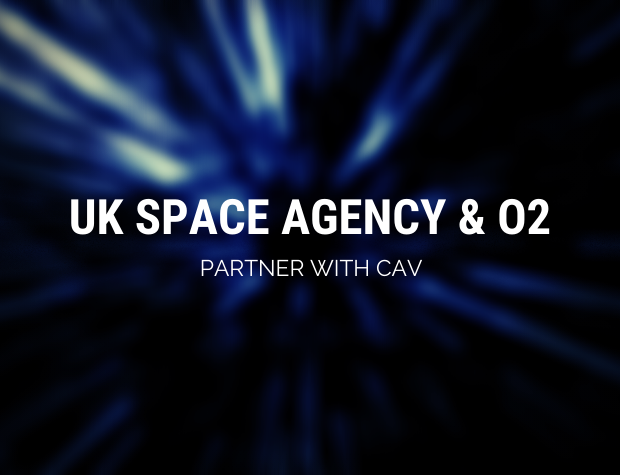 UK Space Agency and O2 partner for CAV